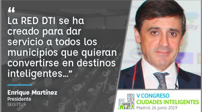 Entrevista a Enrique Martínez de SEGITTUR