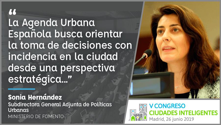 Entrevista a Sonia Hernández de Ministerio Fomento