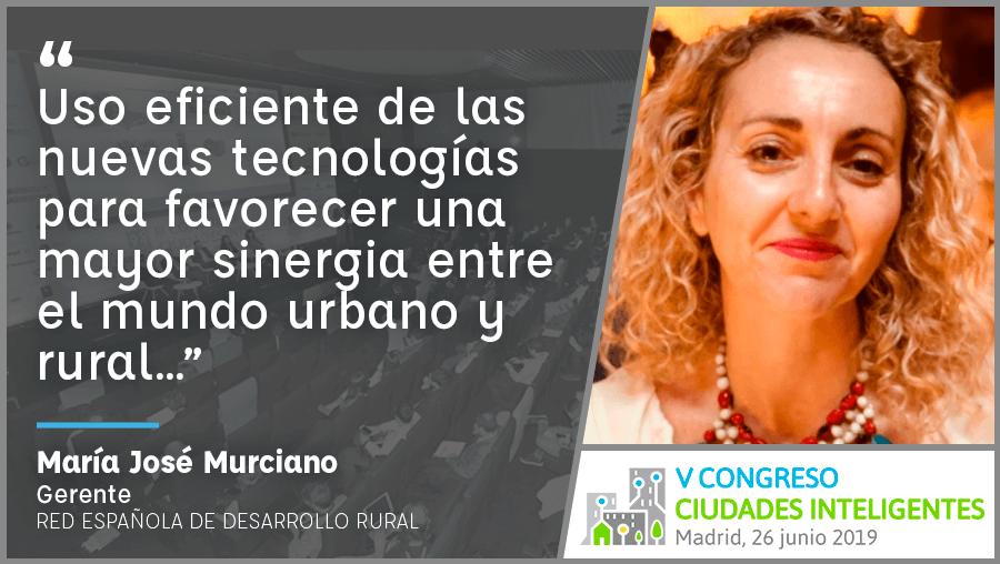 Entrevista a María José Murciano de REDR