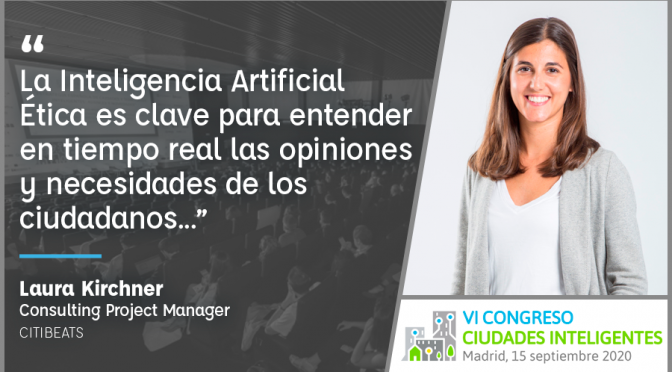 Laura Kirchner, Consulting Project Manager de Citibeats