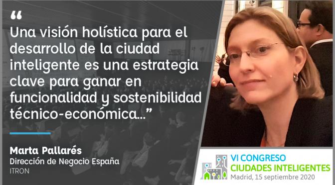 Entrevista a Marta Pallarés de Itron