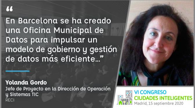 Entrevista a Yolanda Gordo de Ayuntamiento de Barcelona – RECI