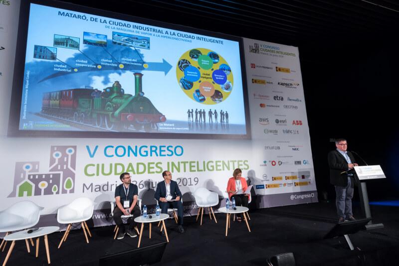 Ponencia V Congreso Ciudades Inteligentes