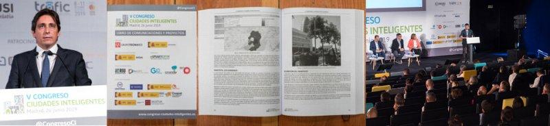 Ponente, Libro, Ponencia de Comunicaciones para el Congreso Ciudades Inteligentes